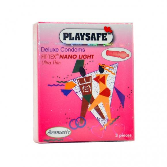 PLAYSAFE FIT-TEX NANO 002 CONDOM - 3's