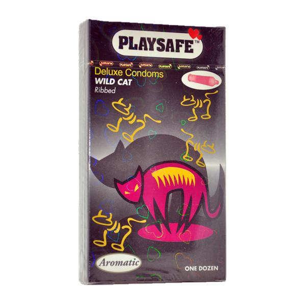 PLAYSAFE WILDCAT CONDOM (KONDOM) - 12's