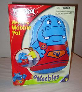 Playskool Weebles Wobble Pal Free Shipping
