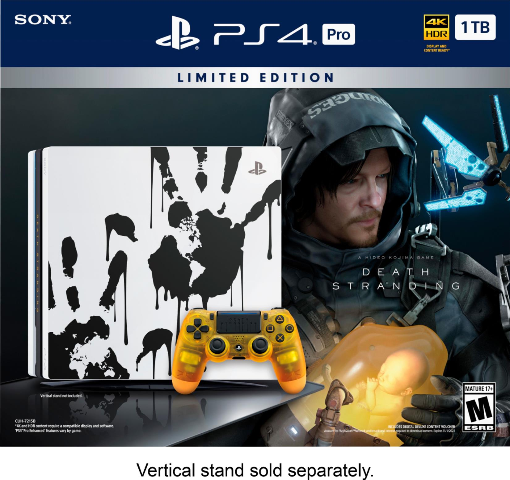 PlayStation 4 Pro 1TB DEATH STRANDING Limited Edition