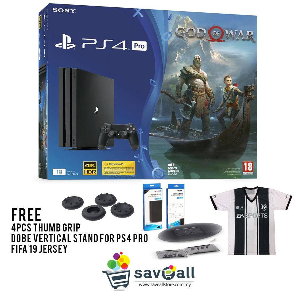 Playstation 4 Pro 1TB God Of War Bundle (Sony Malaysia Warranty)