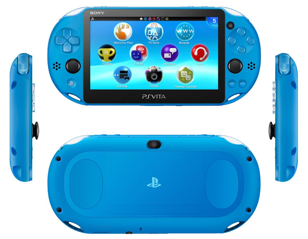 PlayStation®Vita 2006 Series (Aqua Blue)-Asia Set