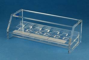 Plexiglas rack for 12 cuvette (3.5 ml)