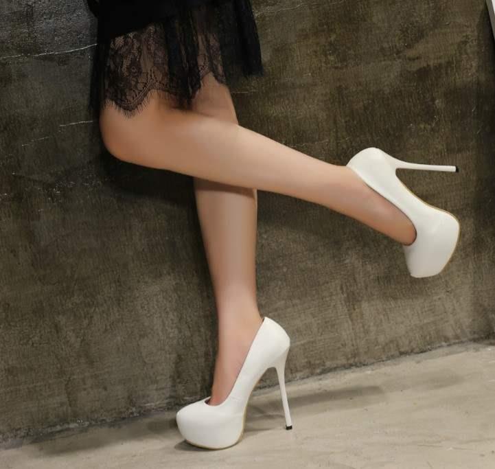 df11a2a0d02 Plus Size 41-45 16CM High Heel Fashion Shoe D201201
