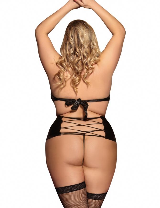 Black sexy lady