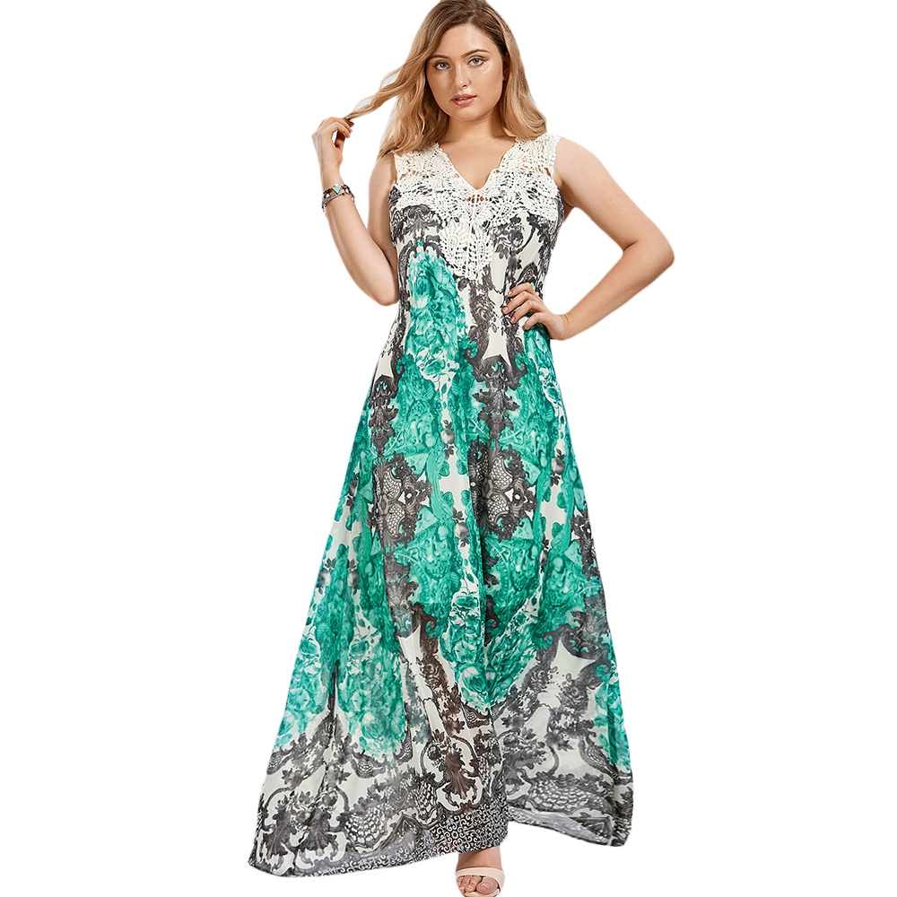 Plus Size Cap Sleeve Floral Maxi Dr End 5 24 2020 10 09 Pm