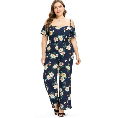 fd6bd7eb7de6a Plus Size Cold Shoulder Flower Jump (end 1 27 2021 12 00 AM)