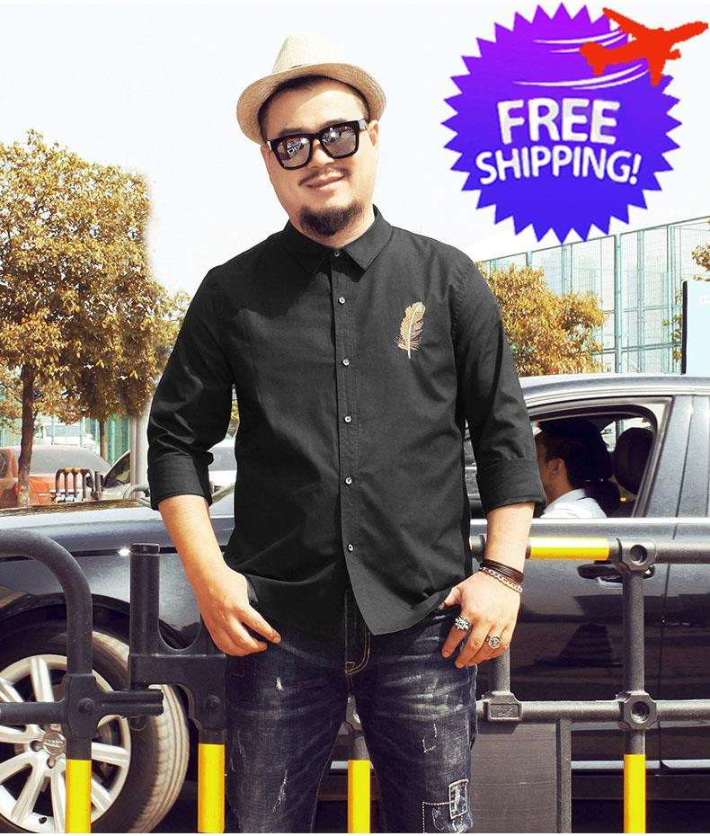 Plus Size For Men Smart And Casual Office Wear Shirt 3xl To 7xl