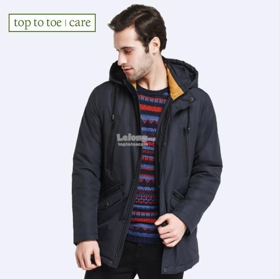Plus Size Men Spring Autumn Trench Co (end 8/6/2018 2:01 PM)