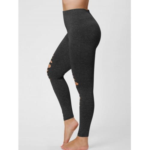 28a5c6d84b9 PLUS SIZE RIPPED FITTED LEGGINGS (BL (end 9 10 2020 6 45 PM)