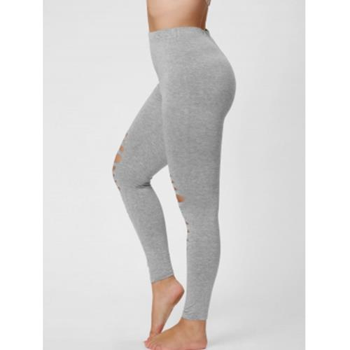 e384c68fd38 PLUS SIZE RIPPED FITTED LEGGINGS (GR (end 10 9 2020 2 07 AM)