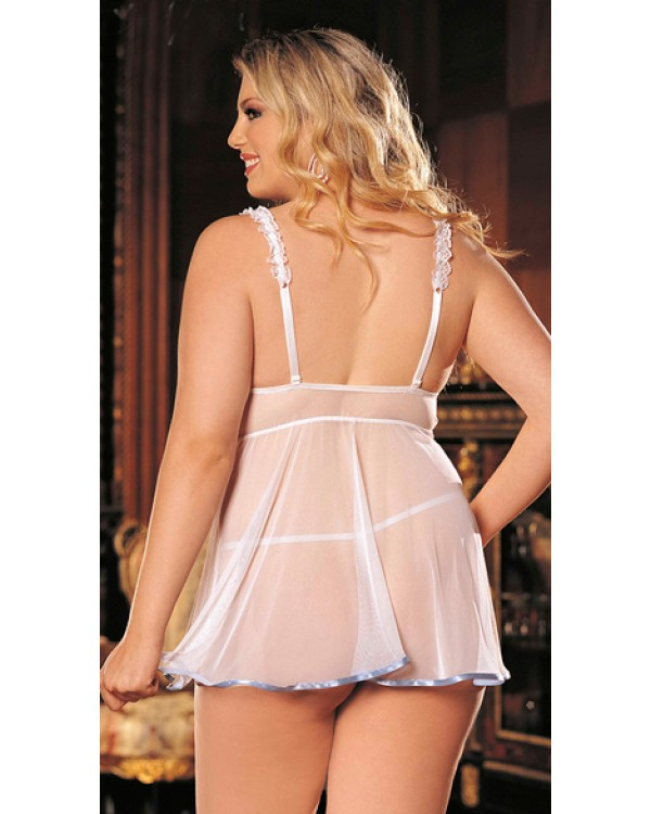 Sexy lingerie for plus women