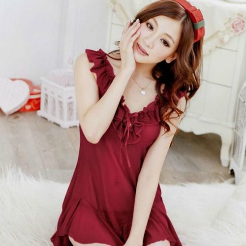 899035aa9a2 PLUS SIZE SEXY MAROON BABYDOLL SC-A (end 5 24 2021 12 00 AM)