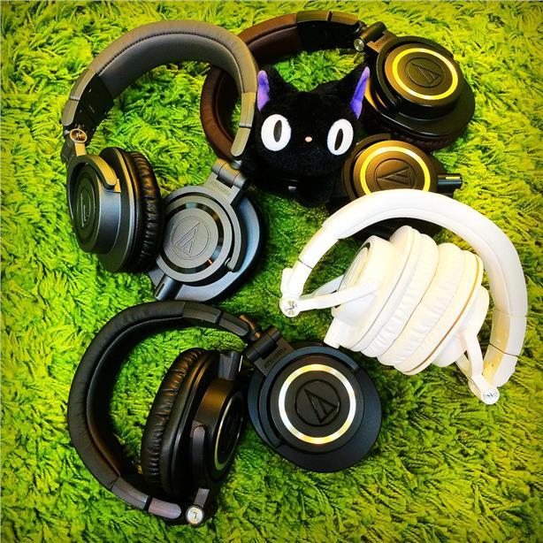 (PM Availability) Audio Technica ATH-M50x M50x Headphones