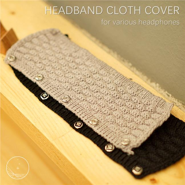 (PM Availability) Headband Cloth Cover for various headphones
