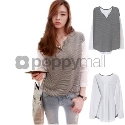 [PM17-96-6305 NEW] Fashion Top As Picture