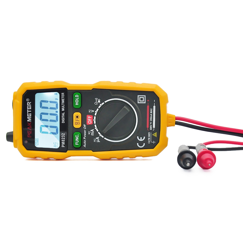 Pm8232 Non Contact Mini Digital Mult End 4 2 2021 1200 Am Voltage And Current Tester Multimeter Dc Ac