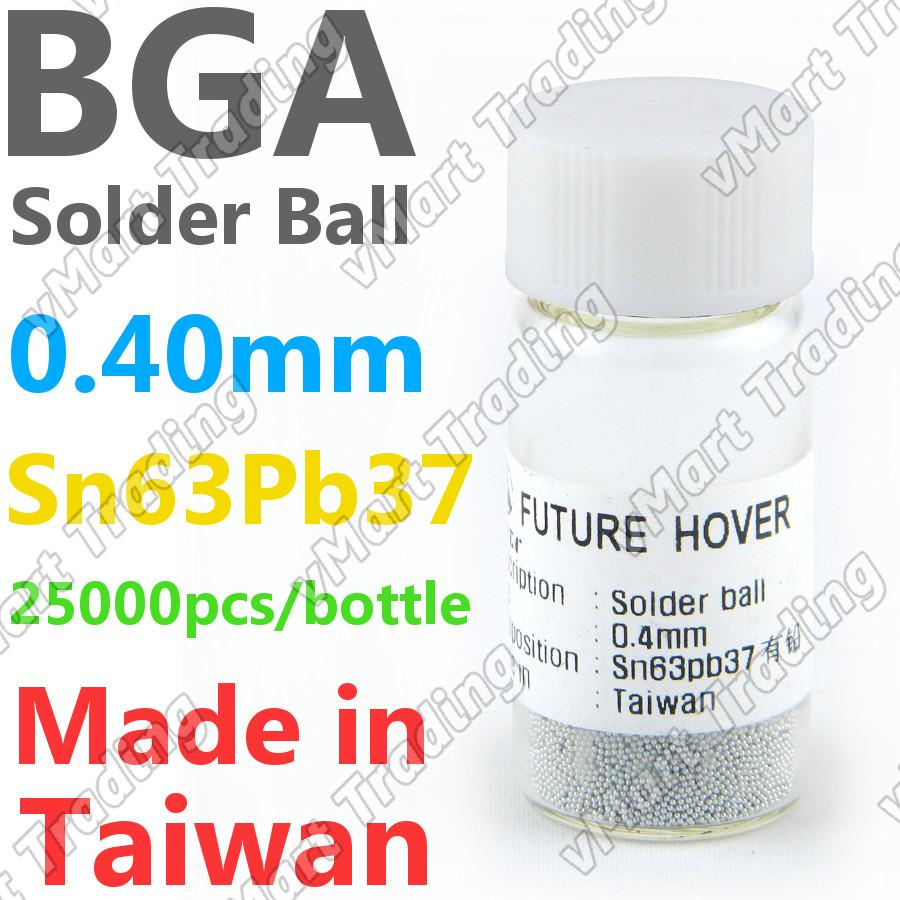 PMTC Sn63Pb37 BGA Solder Ball  25K 0.40mm