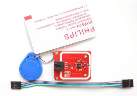 PN532 NFC RFID module User Kits for Arduino (FOC cards)