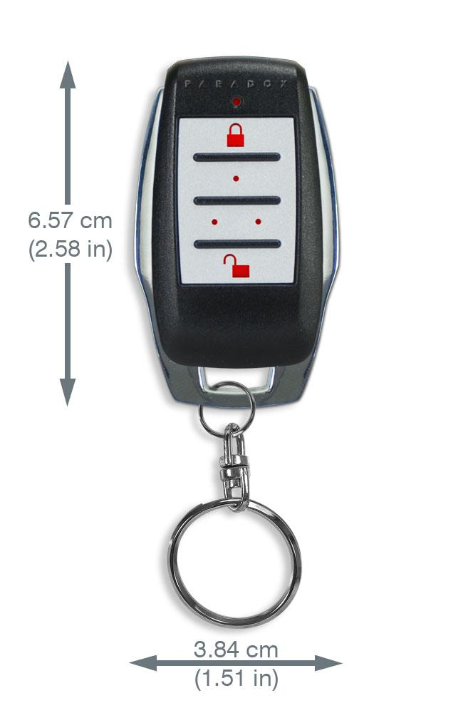 PNI - Remote Control with Backlit Buttons ( Wireless Alarm )