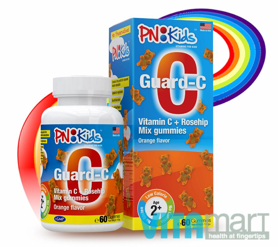 PNKids Guard-C 60 Gummies