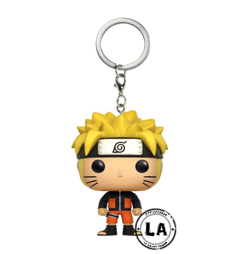 Pocket Funko Pop Keychain NARUTO