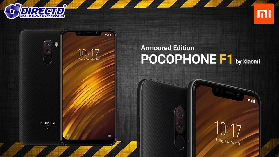 POCOPHONE F1 Armoured Edition (ARMORED) - ORIGINAL by Xiaomi Malaysia