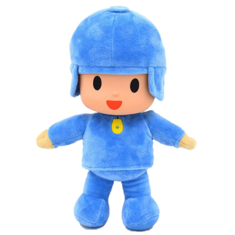 Pocoyo Boy Doll for Children Soft and Comfy Toy - 26cm