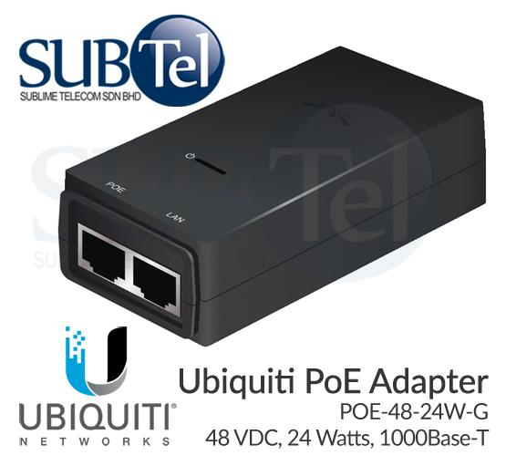 Ubiquiti POE-24-24W-G Power Over Ethernet Injector
