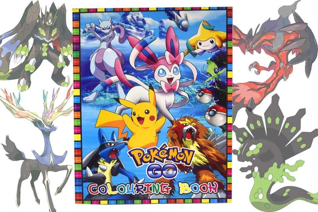 Pokemon Coloring Book & Pokemon Not (end 2/24/2019 11:05 AM)