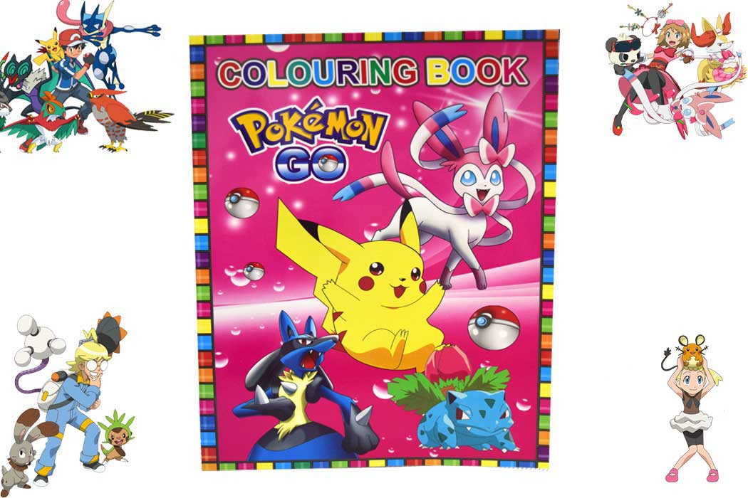 Pokemon Coloring Book & Sticker and (end 2/24/2019 11:05 AM)