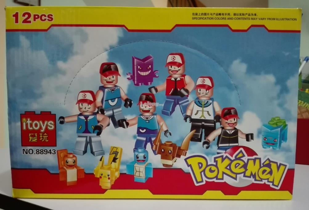 POKEMON MINI FIGURE ( 6 IN 1 )