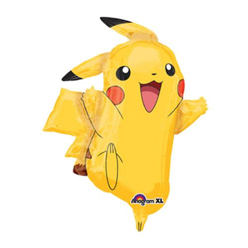 Pokemon Pikachu 31in SuperShape Foil Balloon 29460 Party Decoration