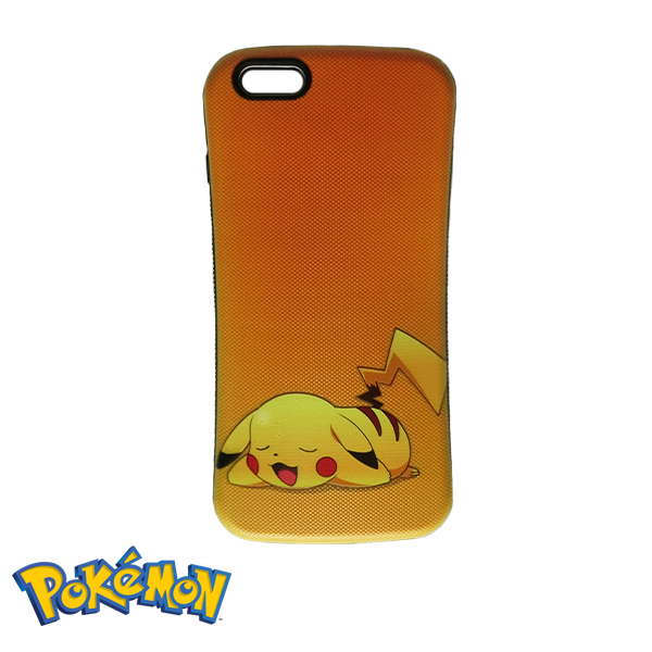 new styles cb631 7d7c2 Pokemon Go Pikachu TPU Phone Case Cover for iPhone 6 / 6s- Yellow