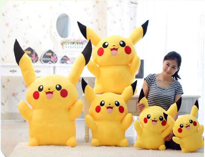 pokemon pikacu soft toys yellow bear pikachu gift birthday toy present