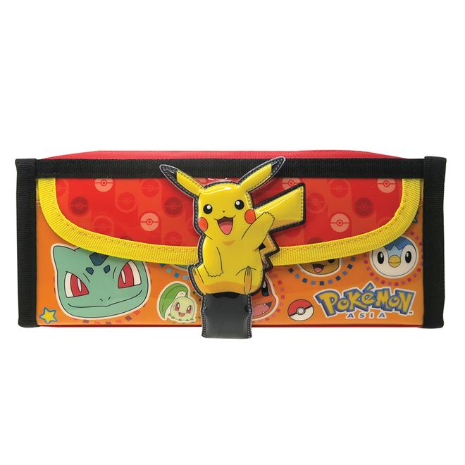 POKEMON SQUARE PENCIL BAG WITH POCKET