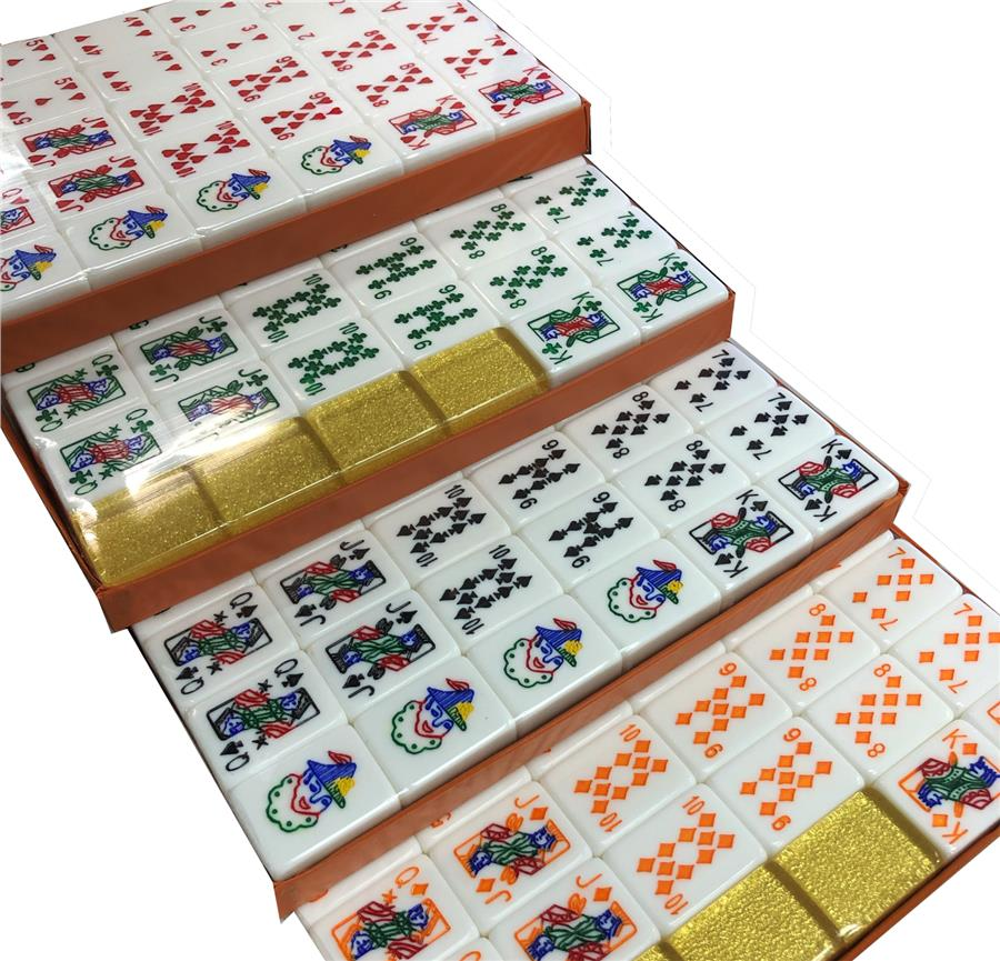 Poker Mahjong Rummy Lami Cinami Game Party Big Tile ~ Ready Stock