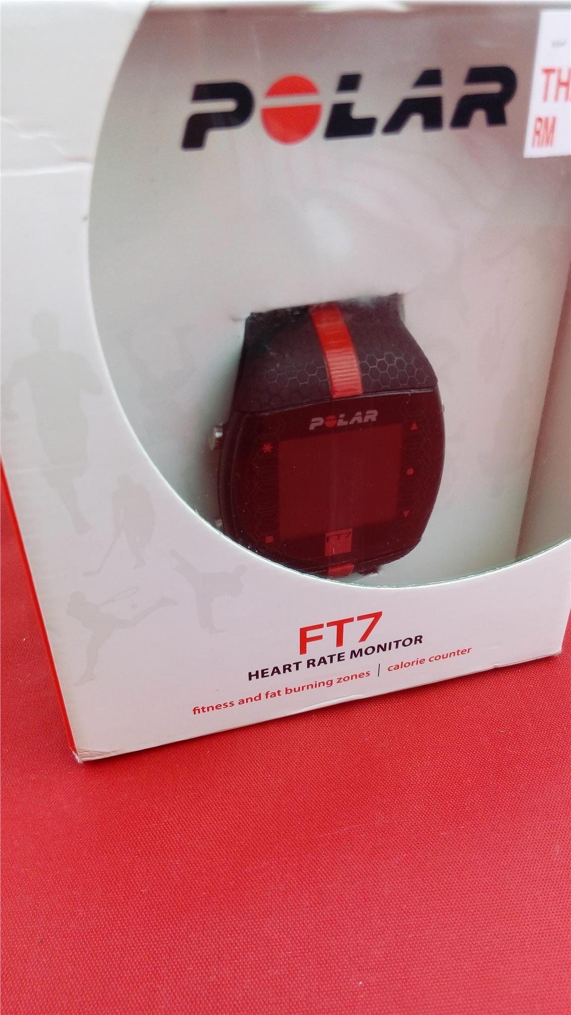 Polar Ft7 Heart Rate Monitor (Black/Red)