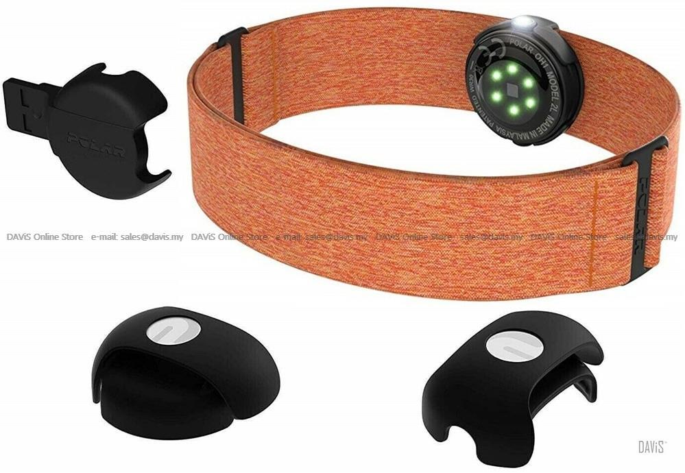 Polar HRM - OH1+ - Optical Heart Rate Sensor w/ Swim Goggle Clip M-XXL