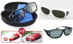 ef76967d26 Polarized Fit Over Unisex Sunglasses (Day   Night time Driving)