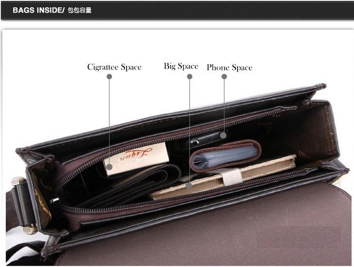 e1a164f622f4 POLO Bag Newest Men´s Genuine Leather Blocking Secure Briefcase