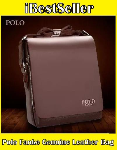 Polo Fanke Men Genuine Leather Shoul (end 7 30 2020 6 15 PM) 74785bb4b16a9