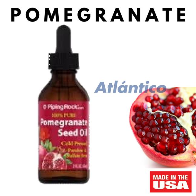 Pomegranate Seed Oil 100% Pure Cold Pressed 60ml Dropper Bottle