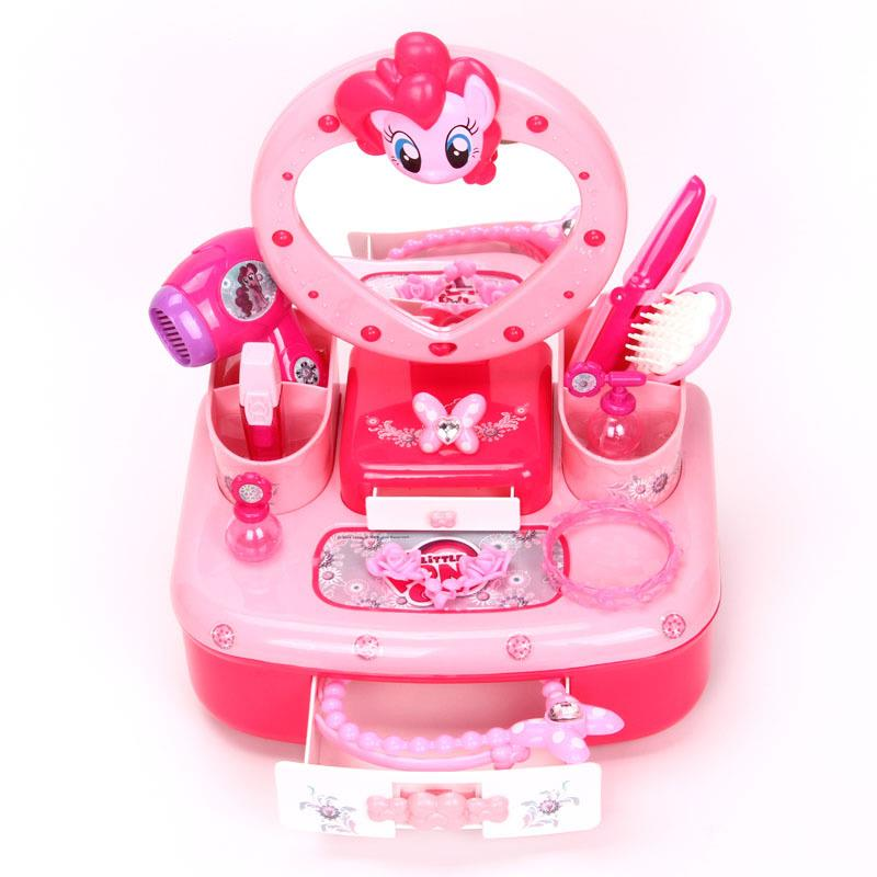 My Little Poney Dressing Table Girl toys with Sound and Light