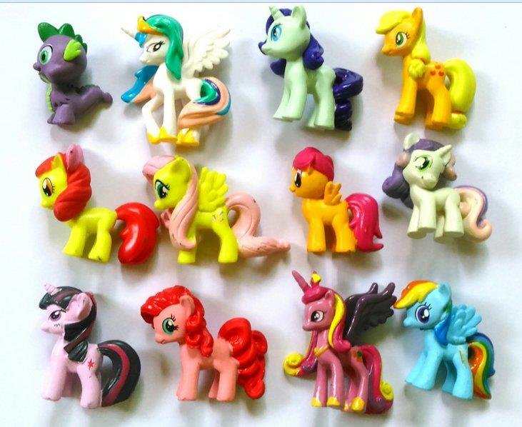 My little pony 12pcs collection + gift