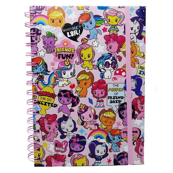 MY LITTLE PONY CUTIE MARK CREW 80PP HARD COVER NOTE BOOK