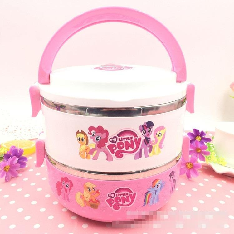 My Little Pony Double Layer Lunch Box - B2
