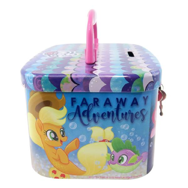 MY LITTLE PONY FARAWAY COIN BANK WITH LOCK