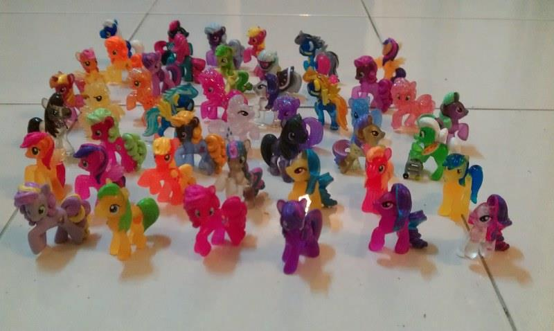 My Little Pony Loose Figures (10 pieces)