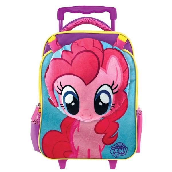 My Little Pony Movie Pinkie Pie School Trolley Bag With Cushion